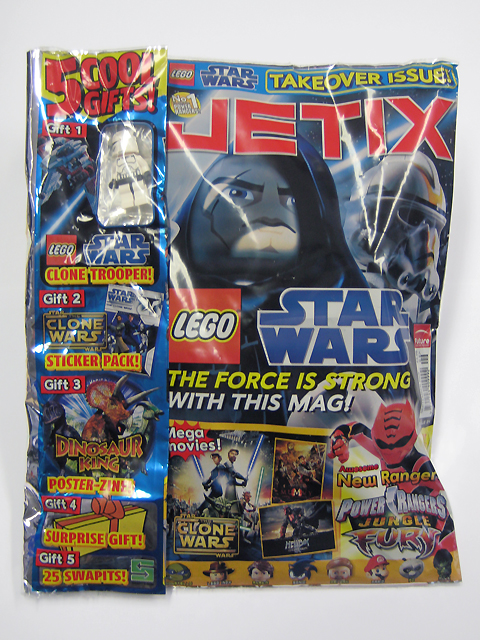 Brickhorizon.com • View topic - Free Clone Trooper in Jetix Magazine (