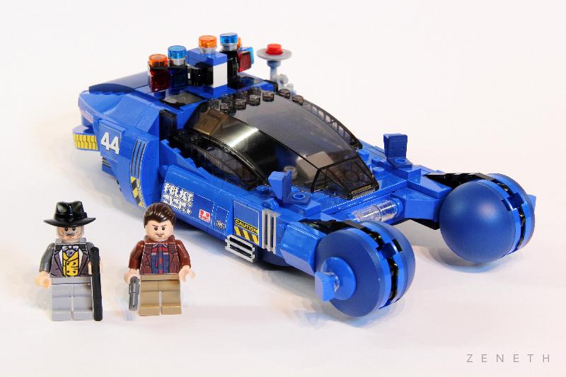 MOC - Blade Runner Police Spinner 44 - LEGO Sci-Fi - Eurobricks Forums