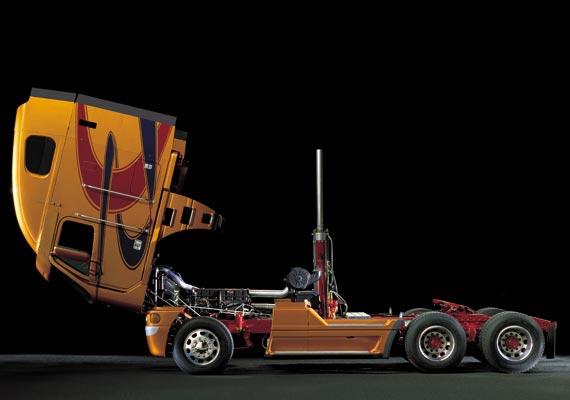 custom freightliner truck