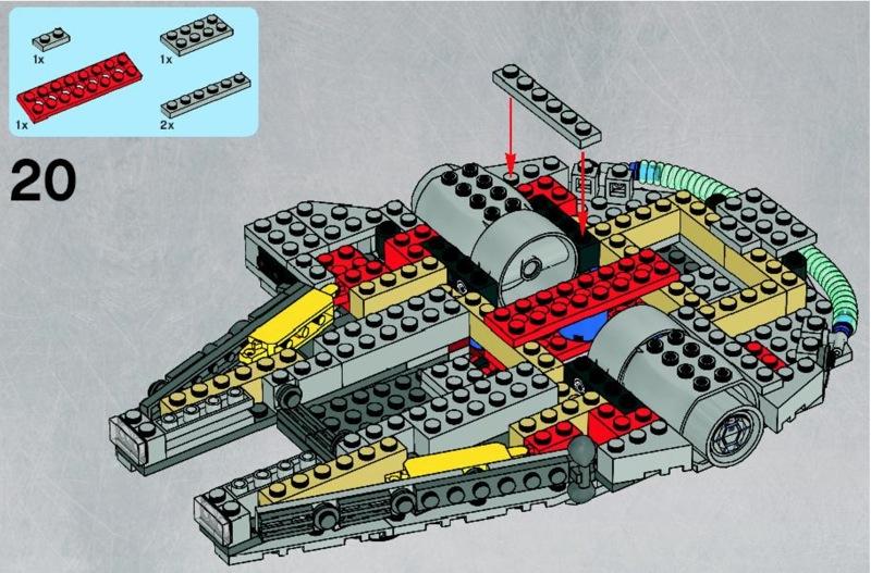 Review 7778 Midi Scale Millenium Falcon Page 3 Lego Star Wars