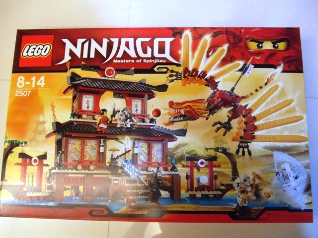 REVIEW: 2507 Ninjago FIRE TEMPLE - LEGO Action and Adventure Themes ...