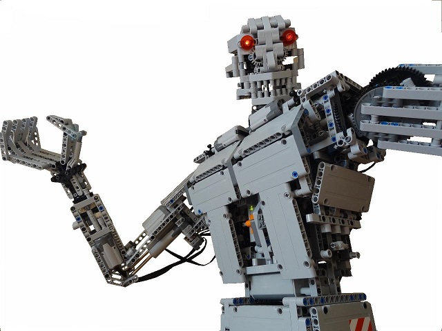 TERMINATOR with LEGO, fully motorized - LEGO Technic, Mindstorms ...