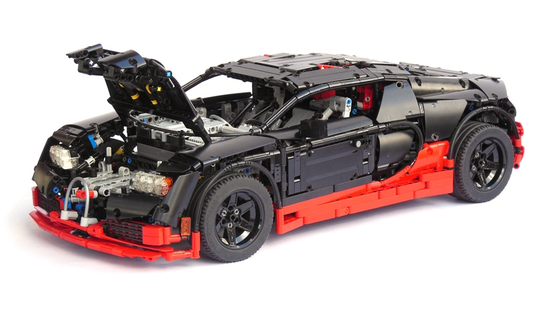 bugatti lego technic id e d 39 image de voiture. Black Bedroom Furniture Sets. Home Design Ideas