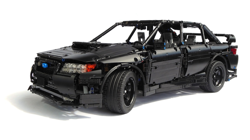 Amazingly Well Done Subaru Wrx Sti By Pipasseyoyo Lego Technic And