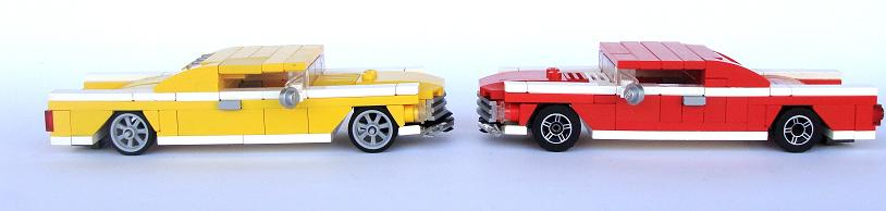 lego muscle car instructions