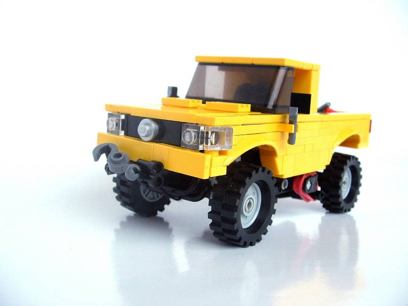 Jeep Wrangler Pickup Truck 2017 >> MOC: Pick-up - LEGO Town - Eurobricks Forums