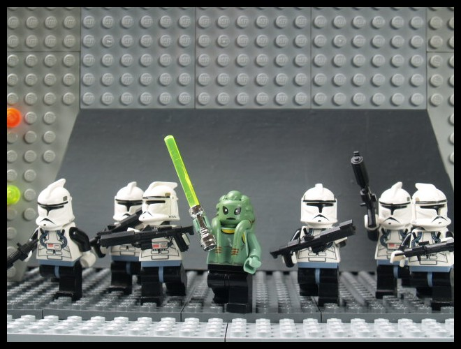 Kit Fisto: A LEGO® creation by Philip Morgan : MOCpages.com