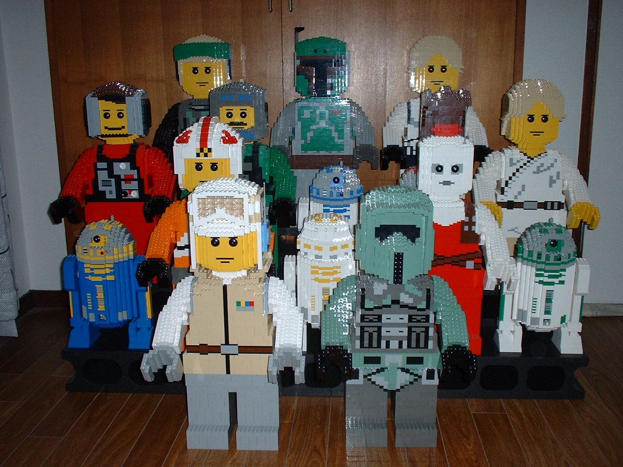 Lego Figurine Star Wars Brick Builder