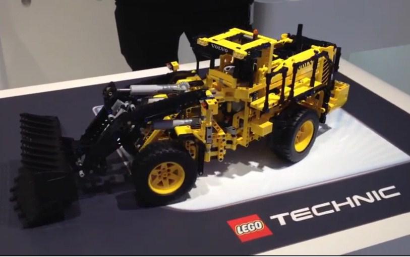 42030 volvo l350f wheel loader lego technic. Black Bedroom Furniture Sets. Home Design Ideas