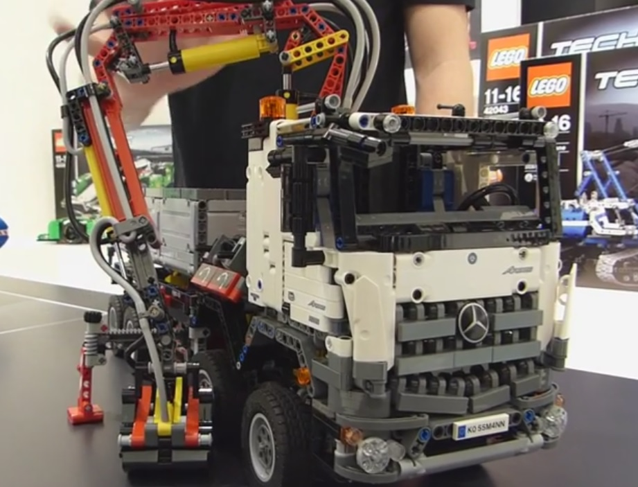 42043 mercedes benz arocs 3245 lego technic and model. Black Bedroom Furniture Sets. Home Design Ideas