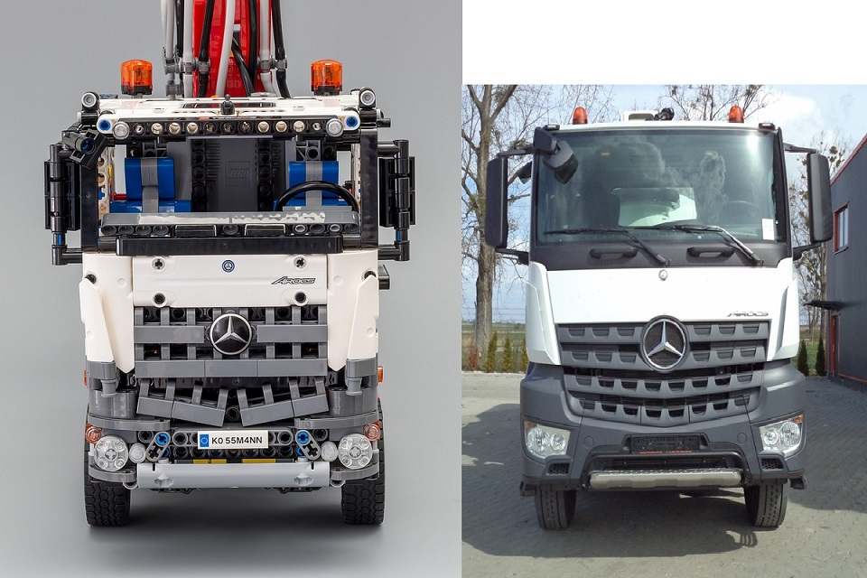 42043 mercedes benz arocs 3245 page 57 lego technic for Lego technic mercedes benz arocs