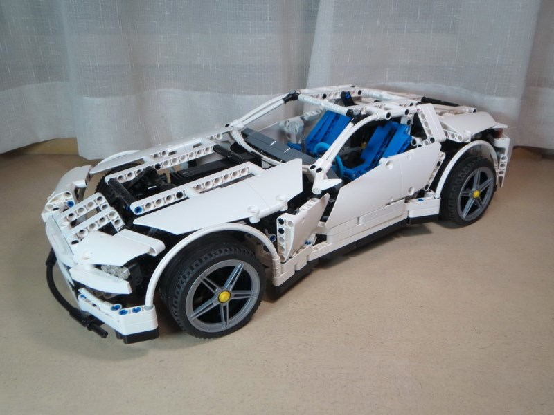 review 8070 supercar page 8 lego technic and model. Black Bedroom Furniture Sets. Home Design Ideas