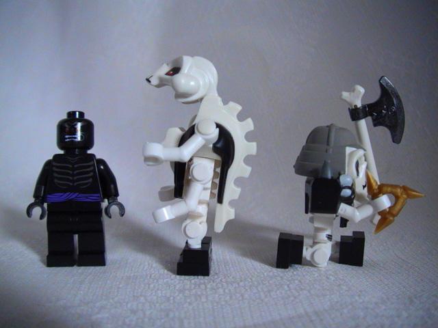 Как сделать из лего мутанта