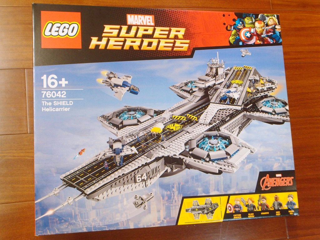 76042 - 神盾局天空母艦-the shiled helicarrier(圖多慎入)