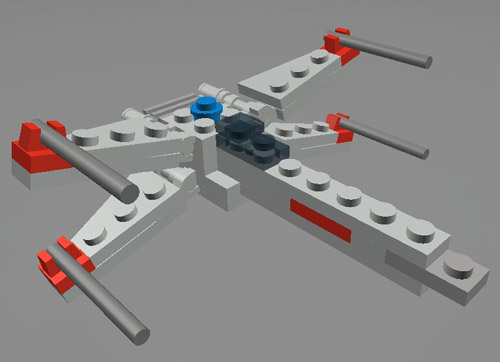 lego star wars mini x wing instructions