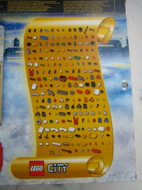 7324 Lego City Advent Calendar Brickipedia The Lego Wiki Pictures to ...