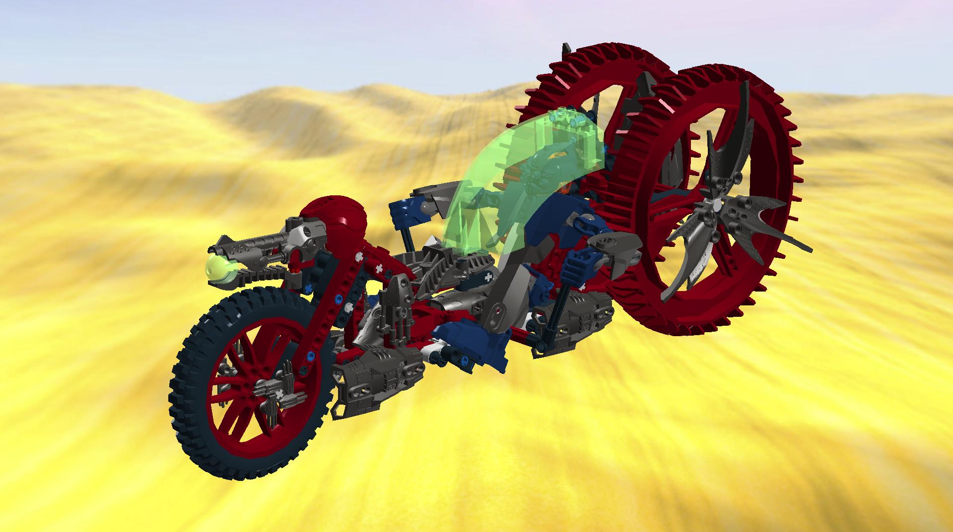 [MOC] LDD MOCs de Ruijala/ New: 2012.0 Devil_chopper