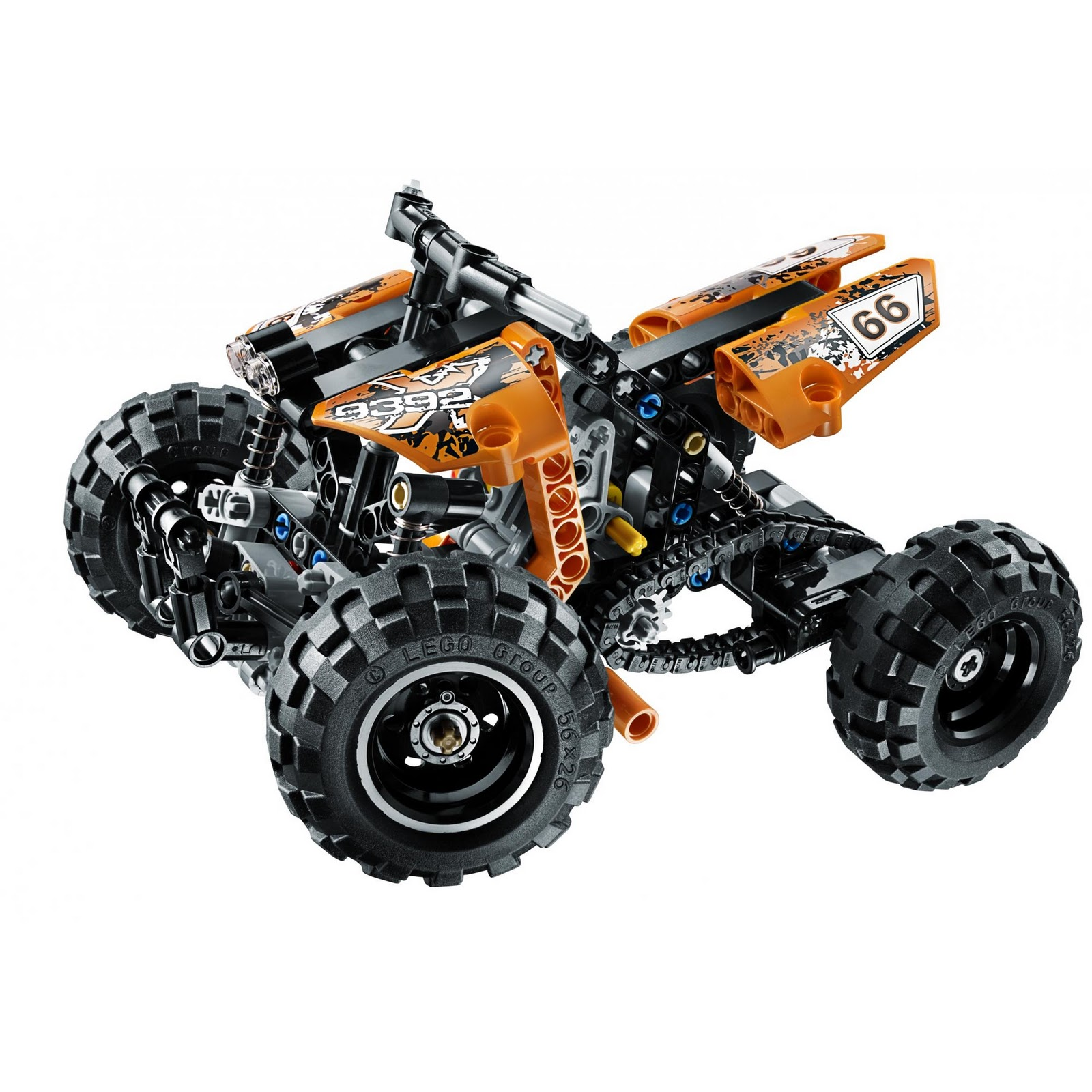 lego technic motorcycles 9392 quad bike new 2012. Black Bedroom Furniture Sets. Home Design Ideas