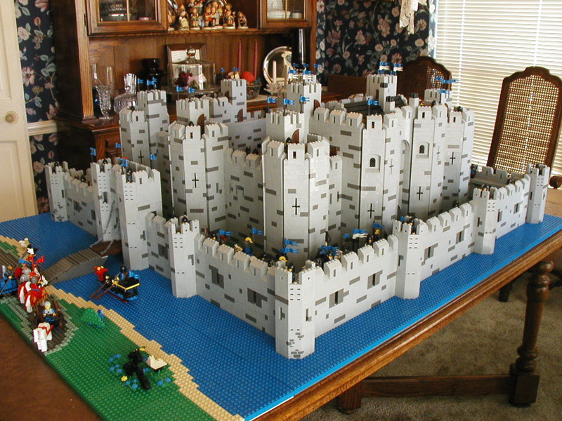 Concentric Castle Models Pictures To Pin On Pinterest