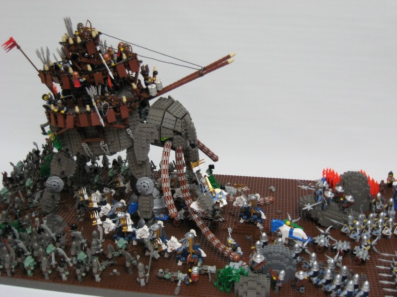 LEGO Lord of the Rings Oliphaunt battle
