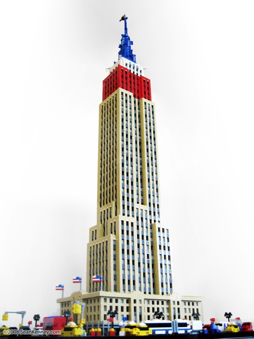 lego empire state building instructions