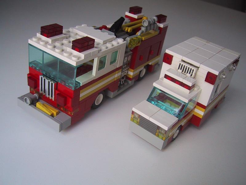Lego Fire Truck Instructions 60061