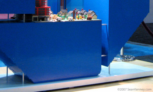 LEGO, defying gravity