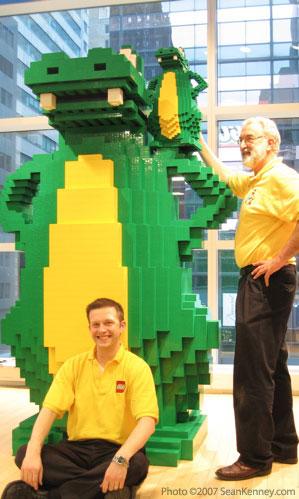 FAO Schwarz LEGO Alligator