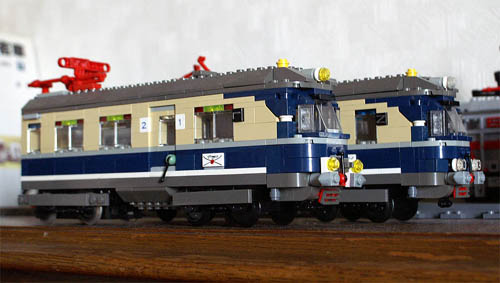 鉄道作品】ドイツの電車ET11 流...