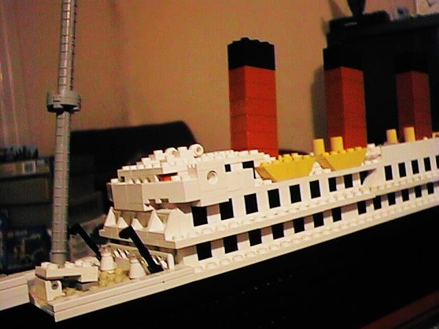 Lego Moc 7325 Titanic Look A Like Creator Model Harbor 1998