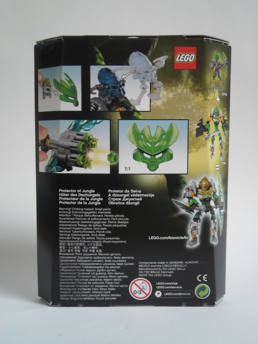 [Revue] LEGO Bionicle 70778 : Protecteur de la Jungle Pb230027