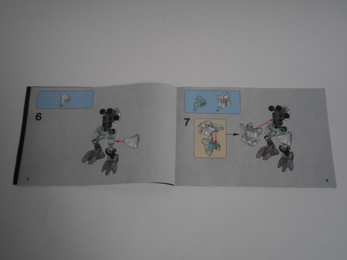[Revue] LEGO Bionicle 70782 : Protecteur de la Glace Pb260034