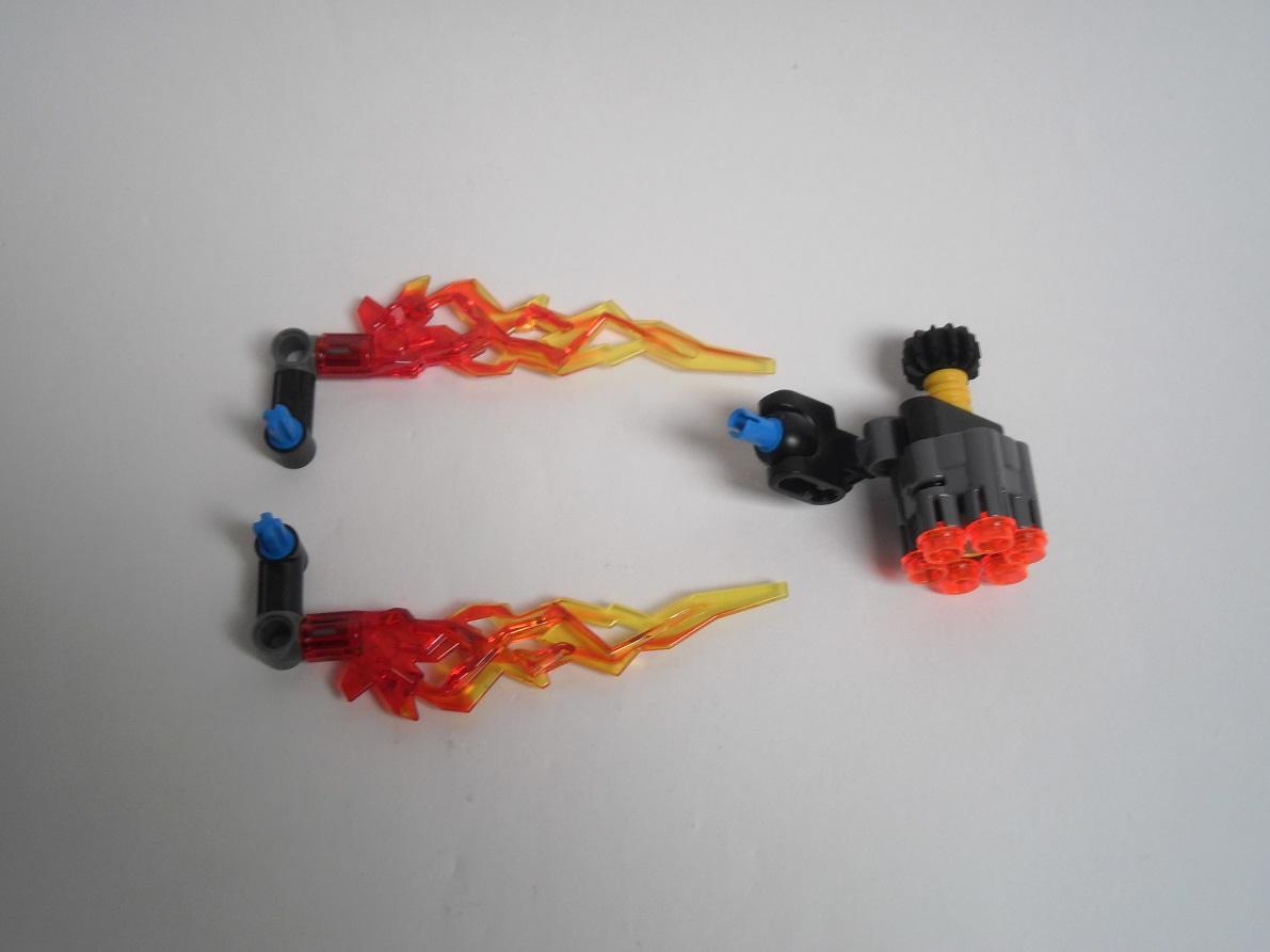 [Revue] LEGO Bionicle 70783 : Protecteur du Feu Pb270106