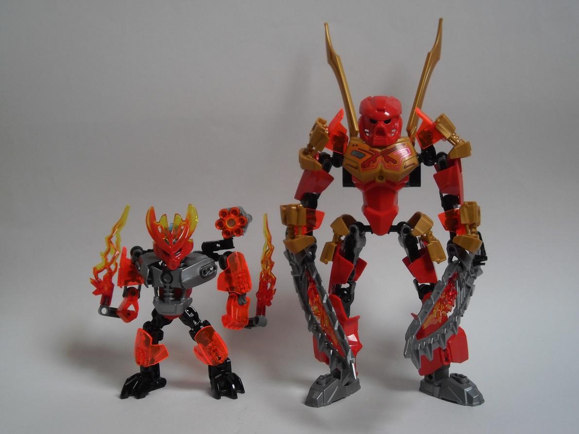 [Revue] LEGO Bionicle 70783 : Protecteur du Feu Pb270135