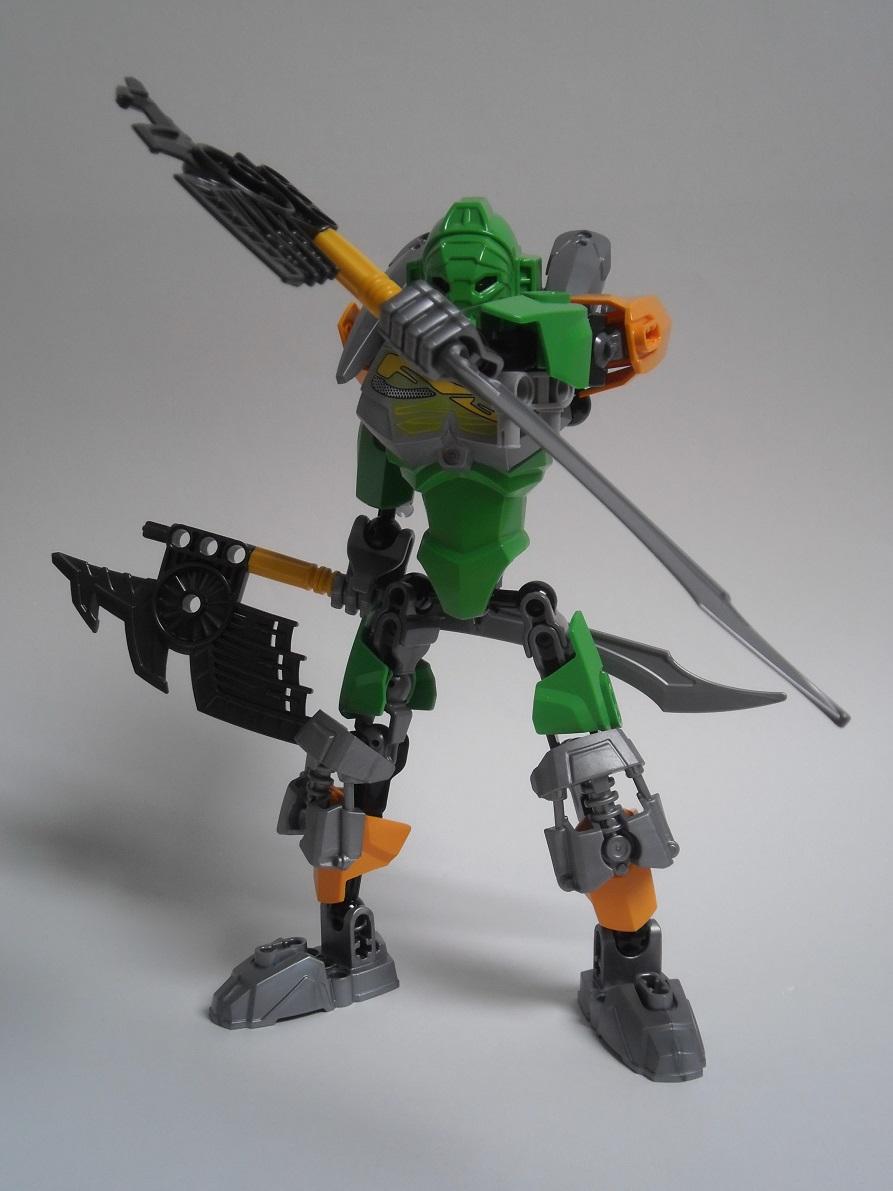 [Revue] LEGO Bionicle 70784 : Lewa, Maitre de la Jungle 70784-lewa