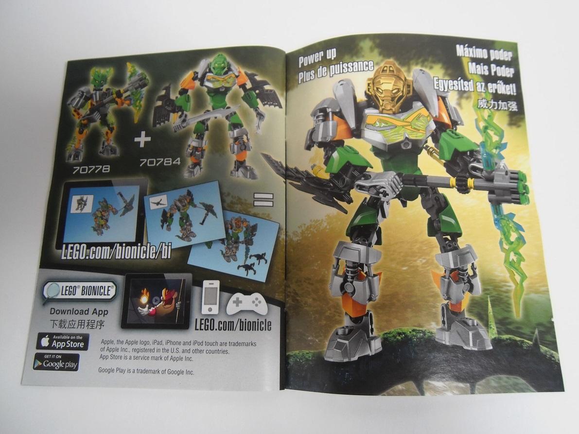 [Revue] LEGO Bionicle 70784 : Lewa, Maitre de la Jungle Pb160038
