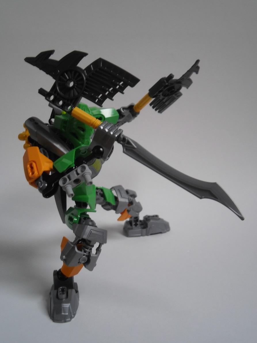 [Revue] LEGO Bionicle 70784 : Lewa, Maitre de la Jungle Pb160128