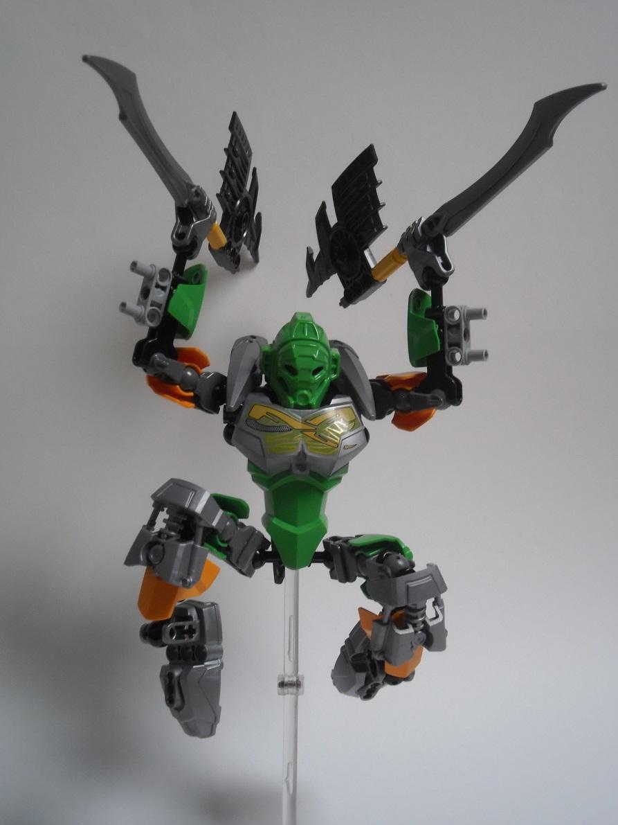 [Revue] LEGO Bionicle 70784 : Lewa, Maitre de la Jungle Pb160129