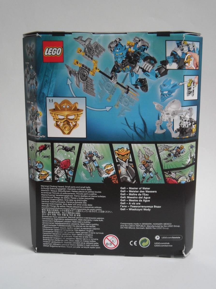 [Revue] LEGO Bionicle 70786 : Gali, Maitre de l'Eau Pb190019