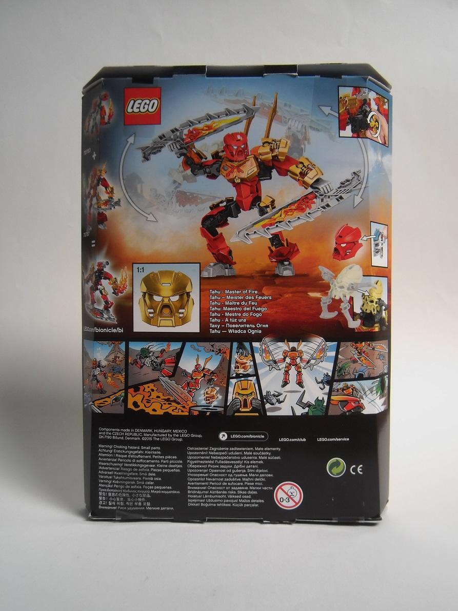 [Revue] LEGO Bionicle 70787 : Tahu, Maître du Feu Pb100018