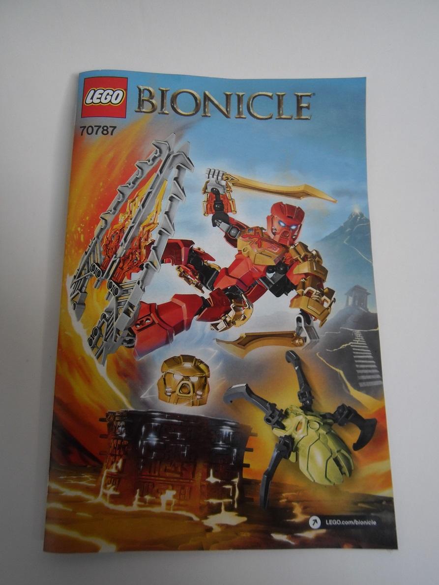 [Revue] LEGO Bionicle 70787 : Tahu, Maître du Feu Pb100022