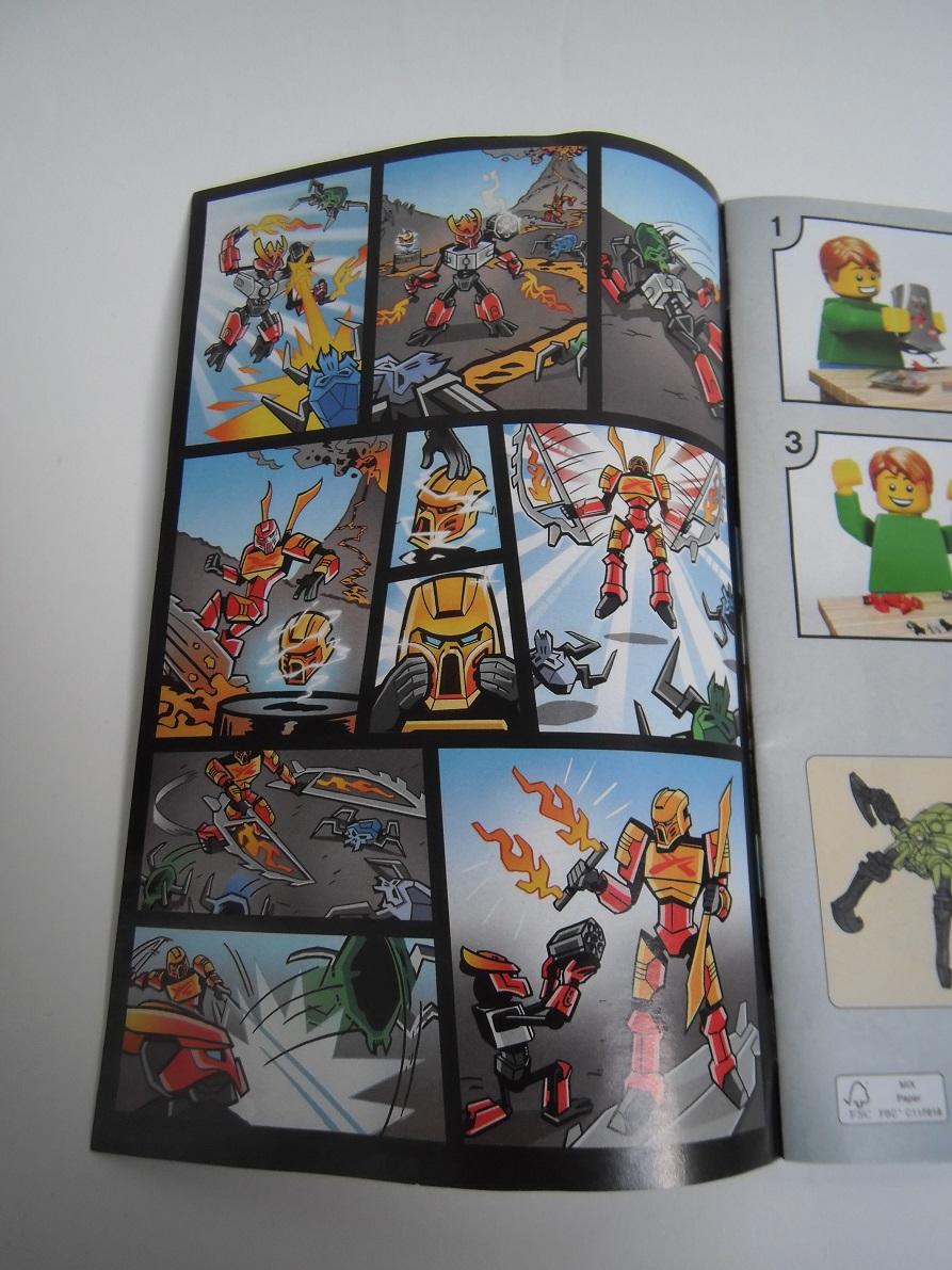 [Revue] LEGO Bionicle 70787 : Tahu, Maître du Feu Pb100023