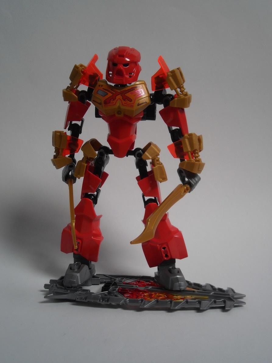 [Revue] LEGO Bionicle 70787 : Tahu, Maître du Feu Pb100075