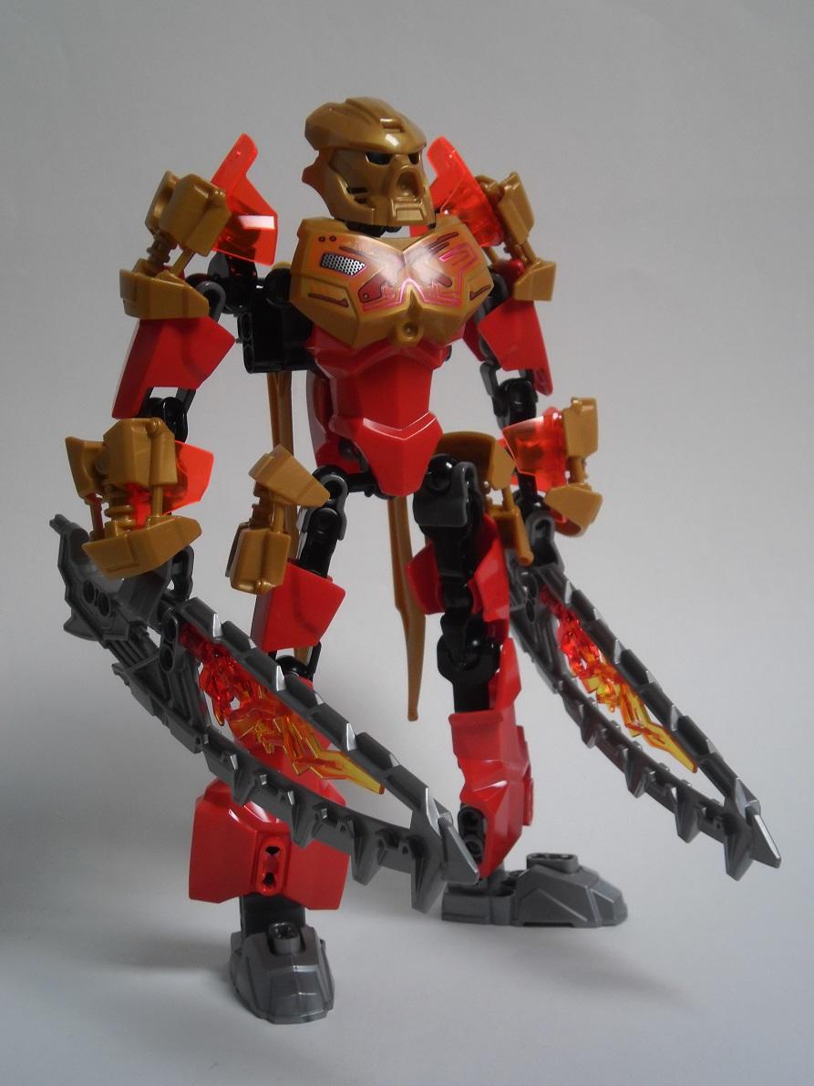 [Revue] LEGO Bionicle 70787 : Tahu, Maître du Feu Pb100098