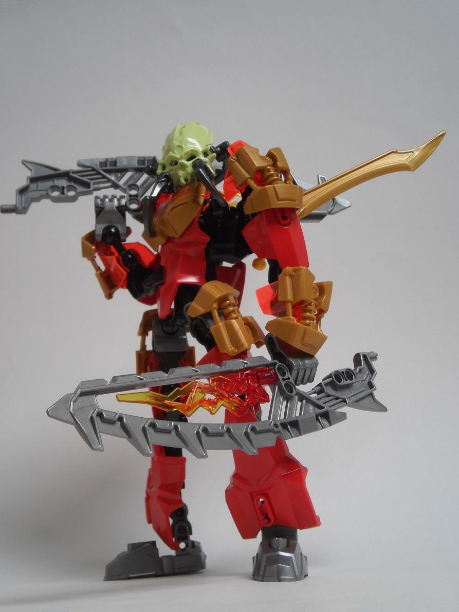 [Revue] LEGO Bionicle 70787 : Tahu, Maître du Feu Pb100111