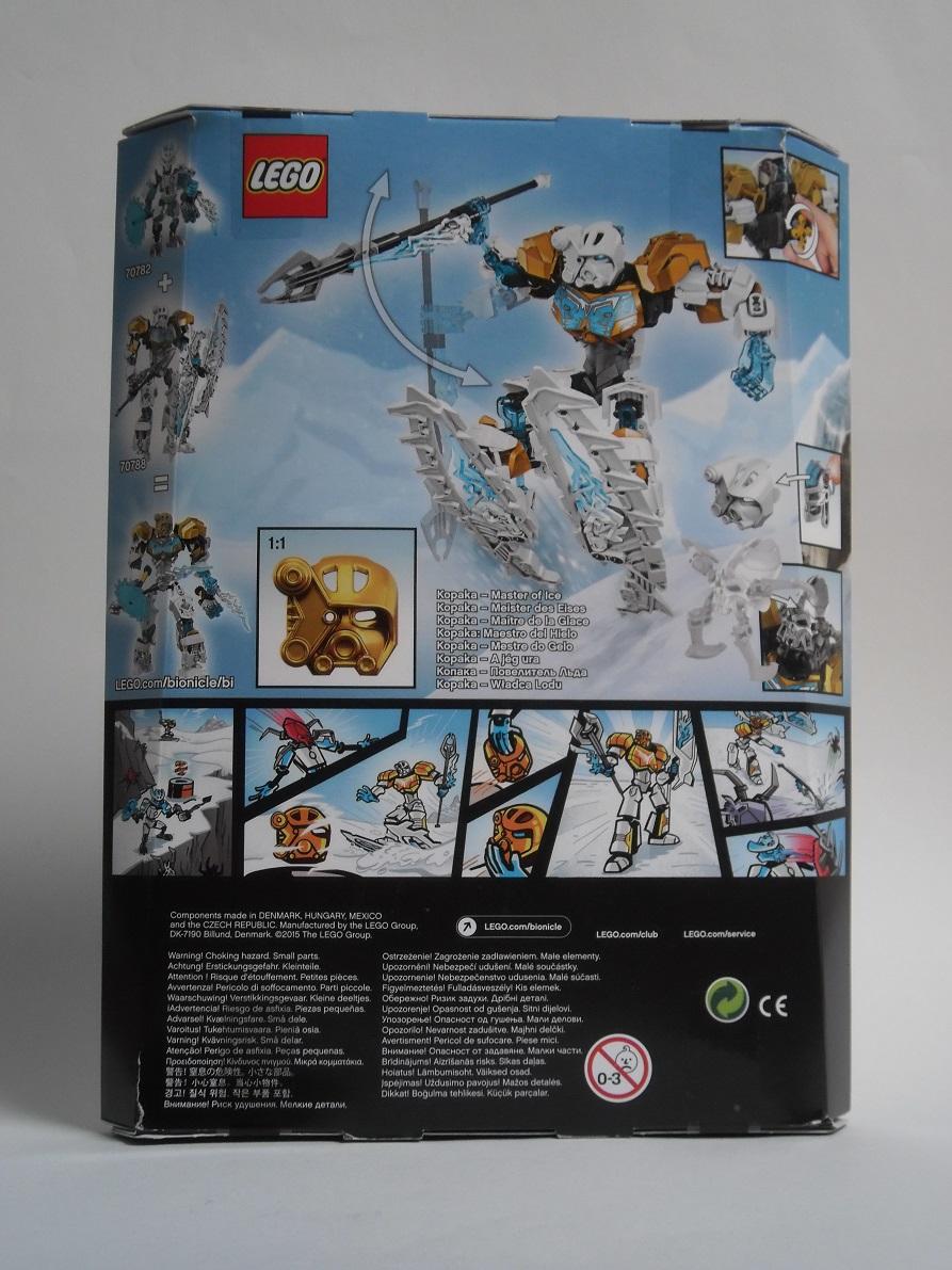 [Revue] LEGO Bionicle 70788 : Kopaka, Maitre de la Glace Pb110021