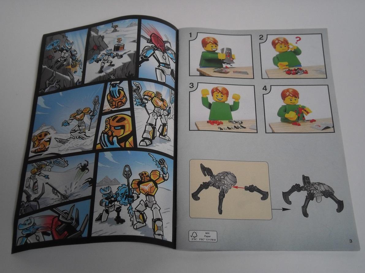 [Revue] LEGO Bionicle 70788 : Kopaka, Maitre de la Glace Pb110028
