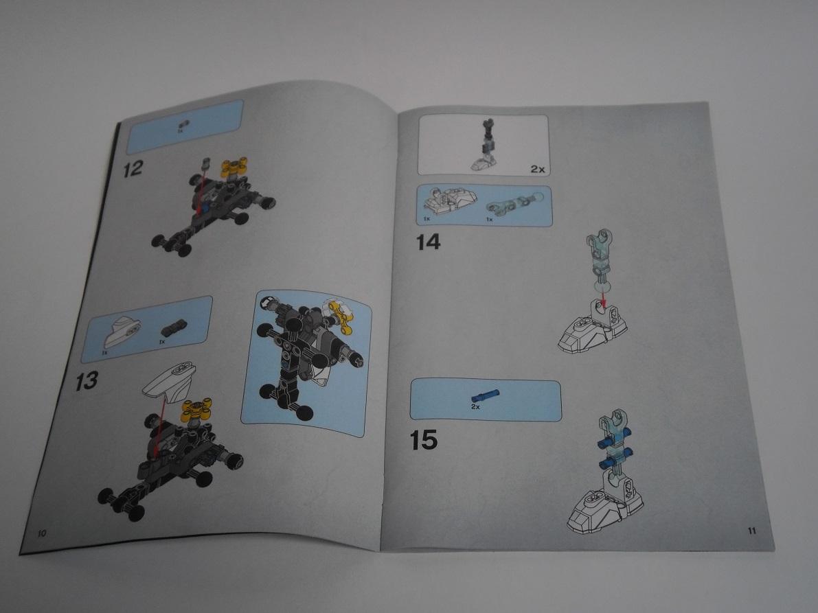 [Revue] LEGO Bionicle 70788 : Kopaka, Maitre de la Glace Pb110030