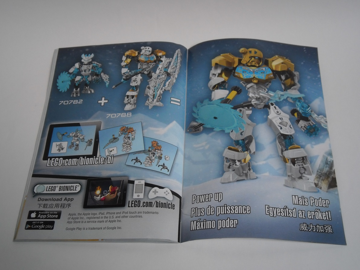 [Revue] LEGO Bionicle 70788 : Kopaka, Maitre de la Glace Pb110032