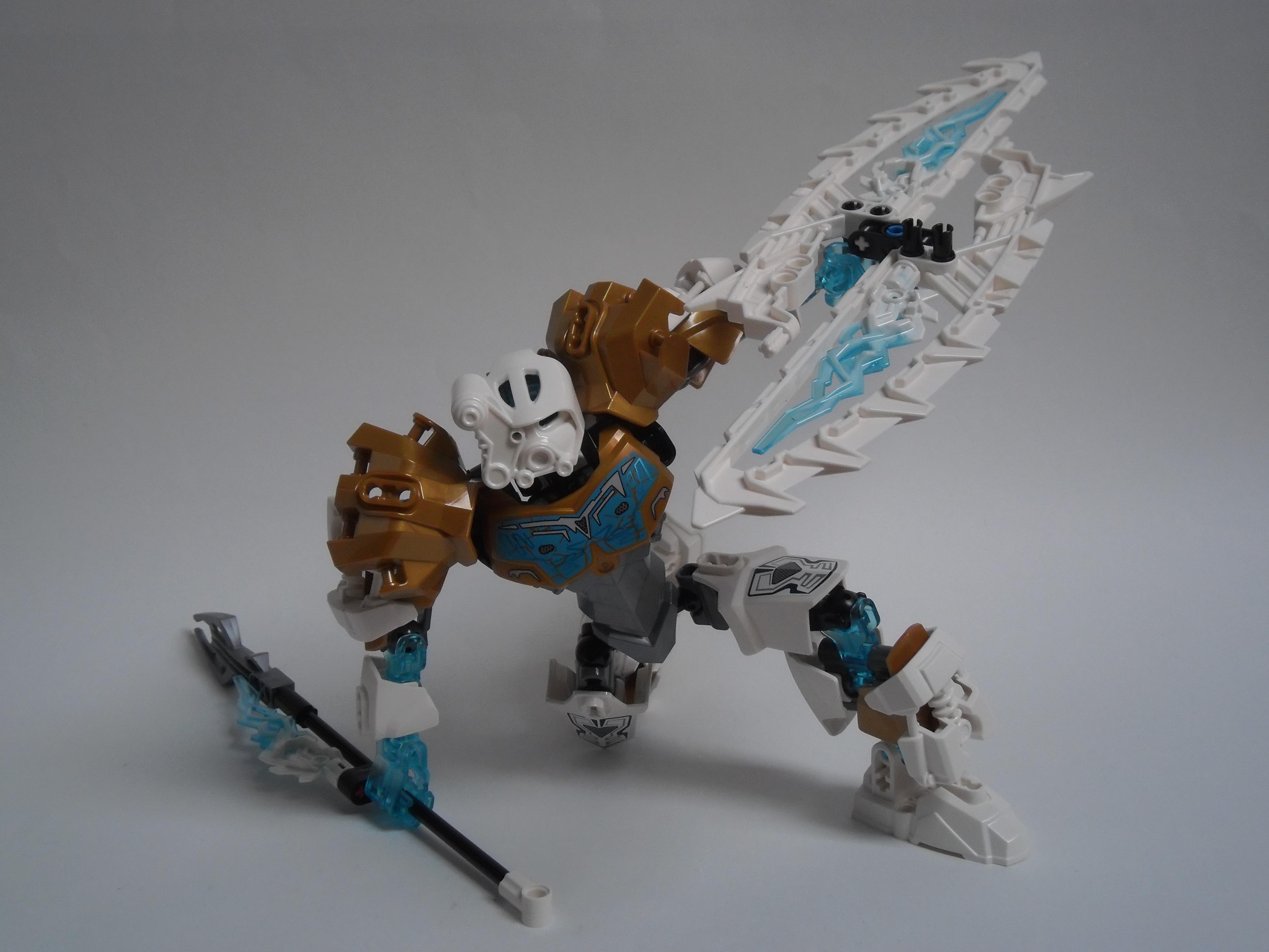 [Revue] LEGO Bionicle 70788 : Kopaka, Maitre de la Glace Pb110114